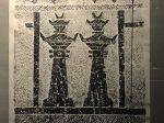 漢双闕画像石棺頭-拓本-東漢-南溪県郊外長順坡出土-四川漢代陶石芸術館-四川博物院-成都