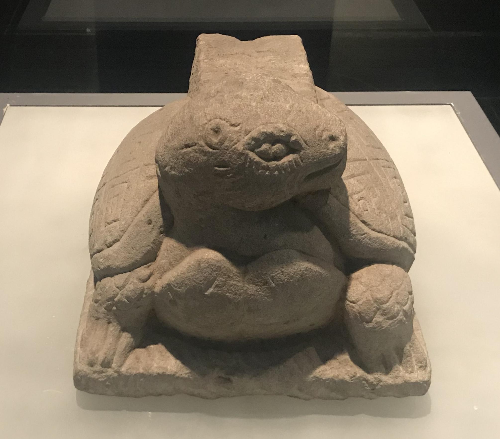 亀型石礎座-東漢-雅安市河北沙溪-四川漢代陶石芸術館-四川博物院-成都