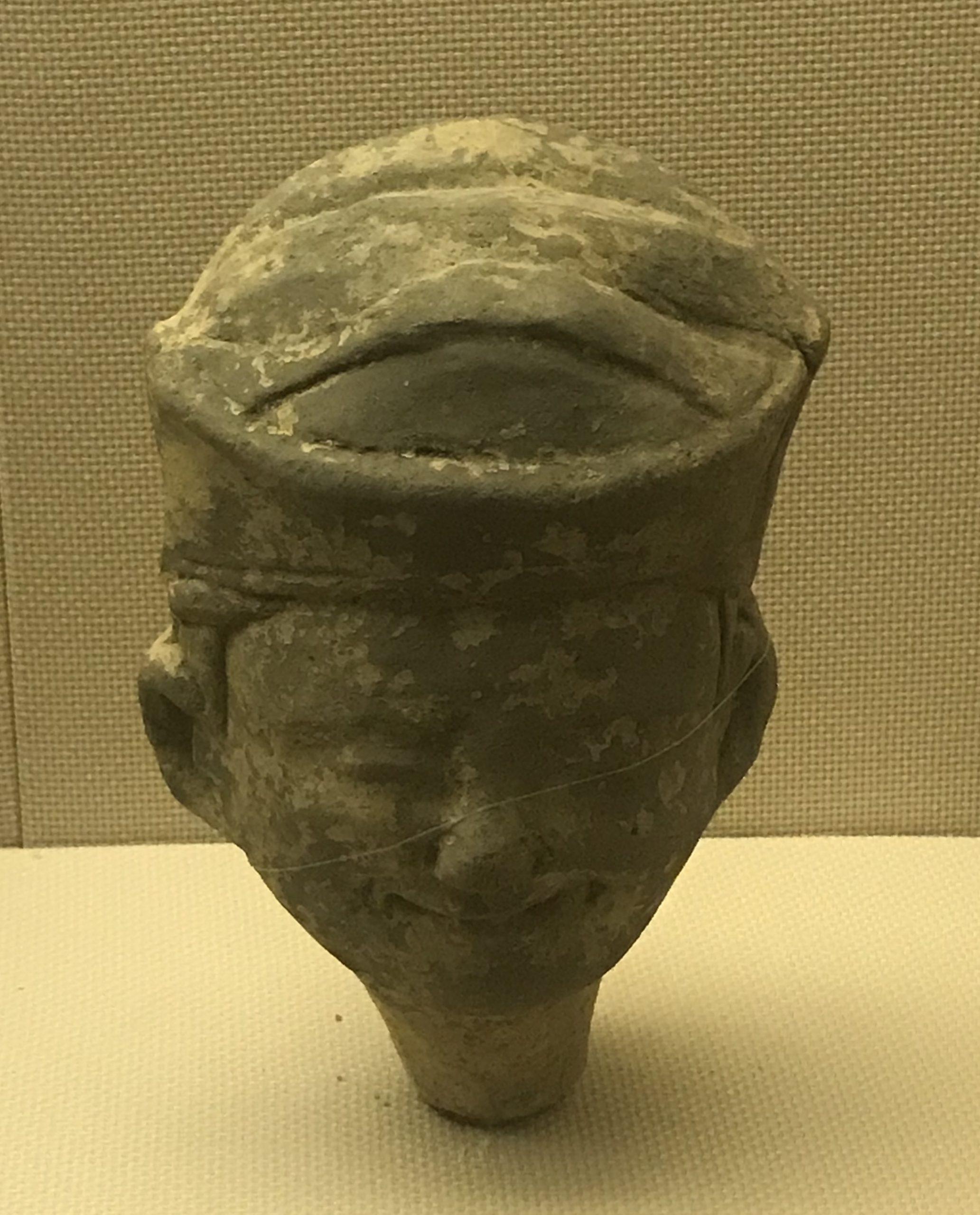 陶俑頭10-東漢-四川漢代陶石芸術館-四川博物院-成都