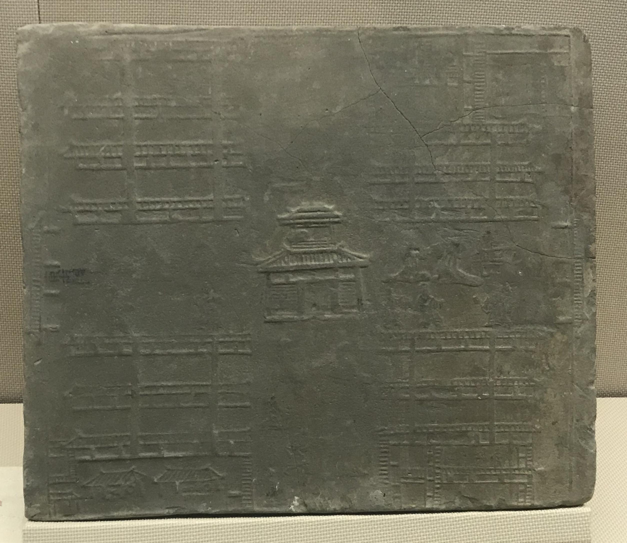 市井1レンガ-東漢- 成都市新都区新繁鎮-四川漢代陶石芸術館-四川博物院-成都