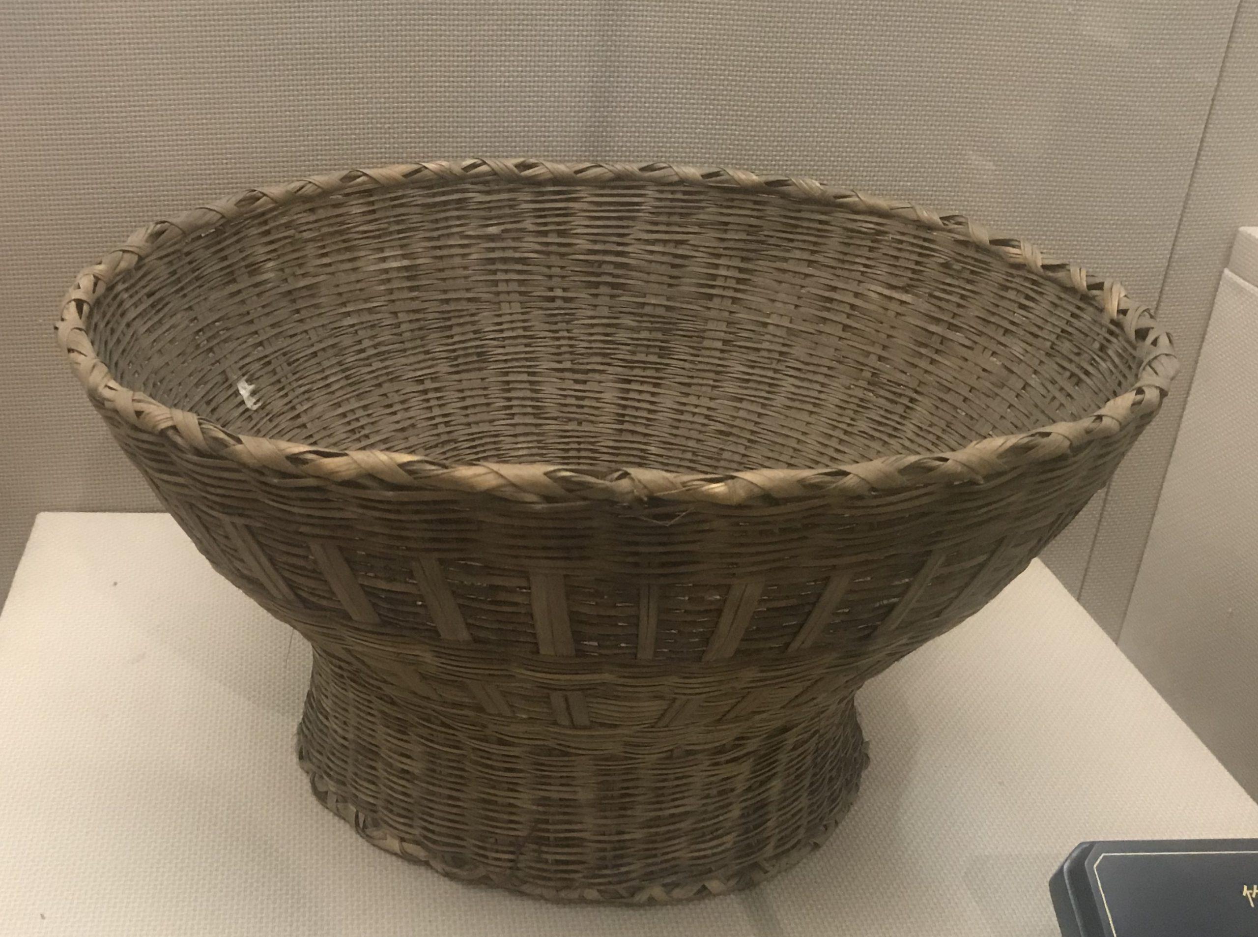 竹バケツ-彜族工具-四川民族文物館-四川博物館-成都