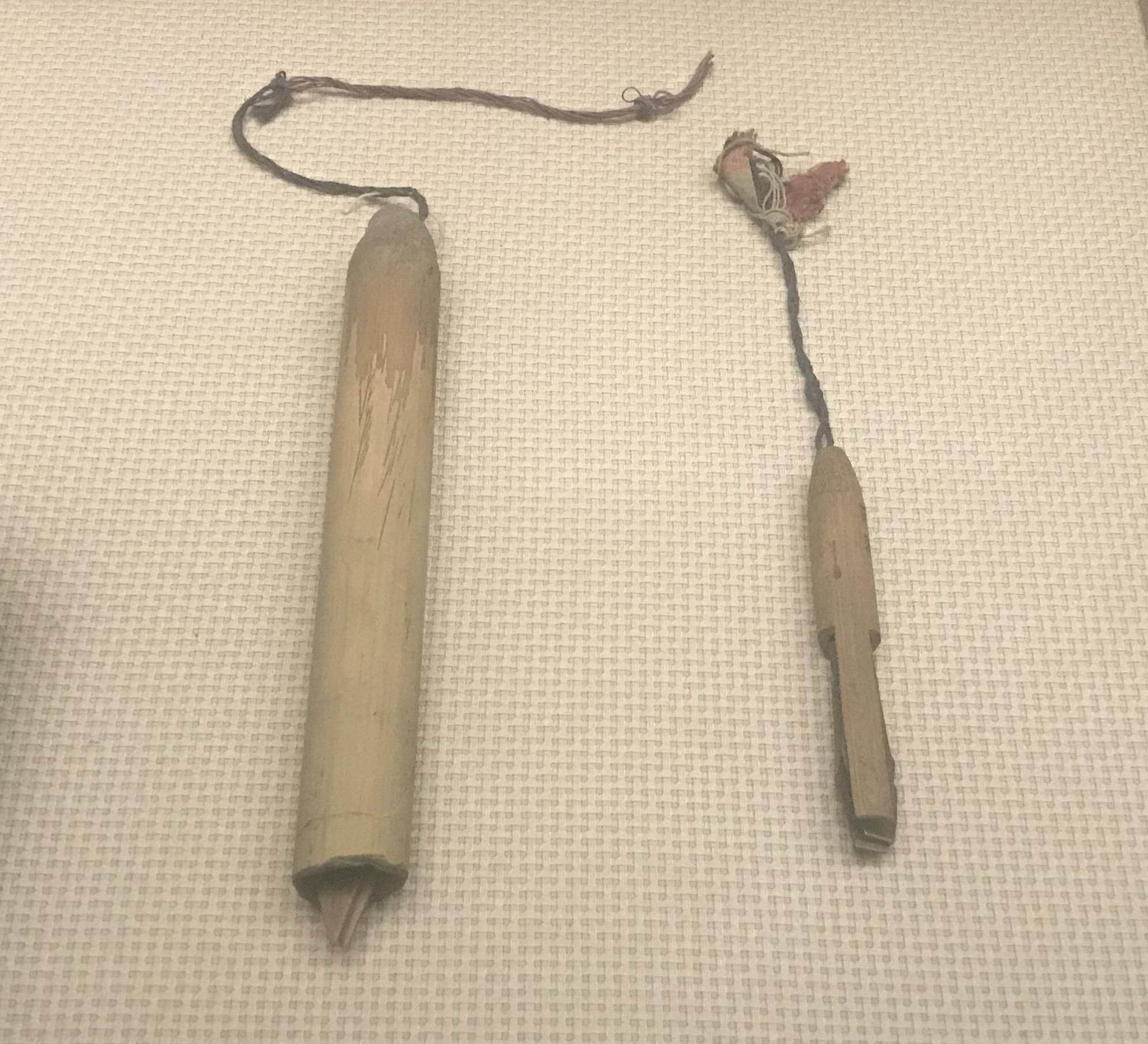 銅口弦-竹口弦-彜族楽器-四川民族文物館-四川博物館-成都
