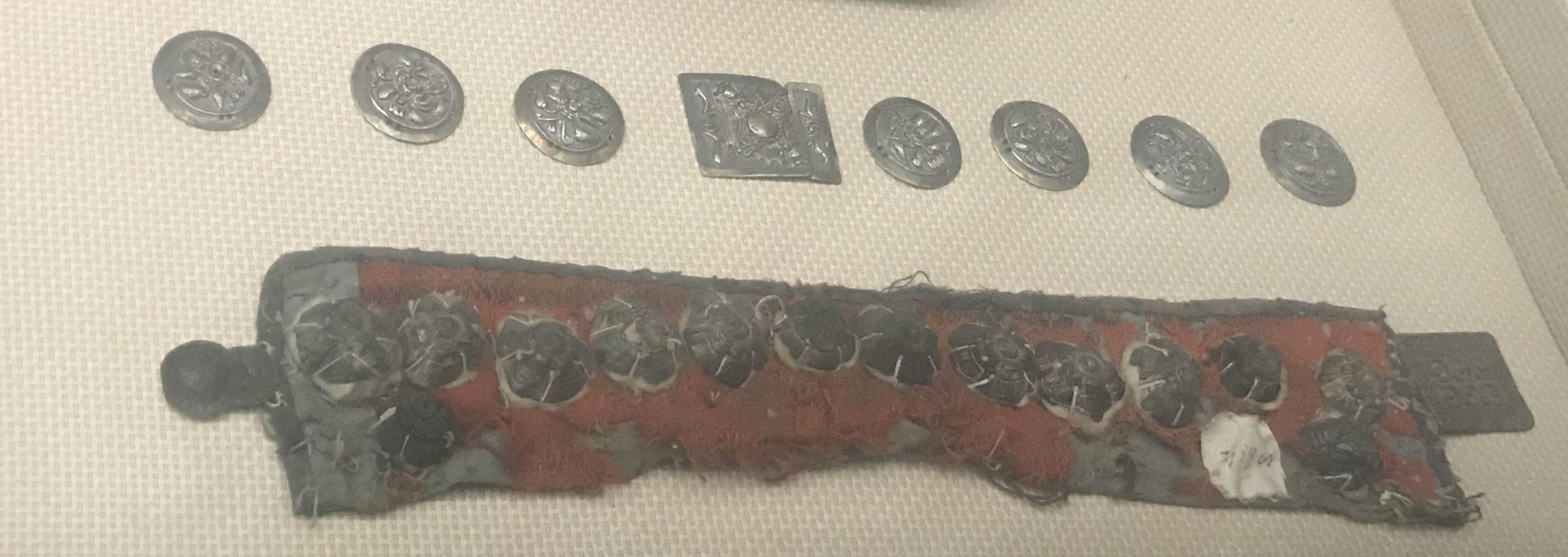 銀領飾り-チャン族アクセサリー-四川民族文物館-四川博物館-成都