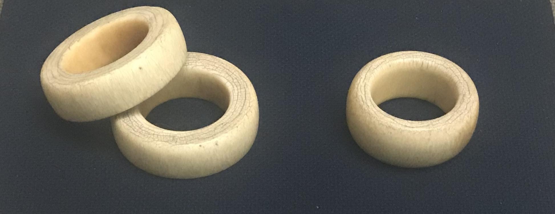 象牙手鐲-チャン族アクセサリー-四川民族文物館-四川博物館-成都