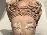 観音頭像-明時代-天下の大足-大足石刻の発見と継承-金沙遺跡博物館-成都