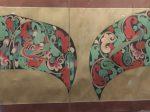 臨摹北魏図案図軸-張大千芸術館-四川博物院-成都