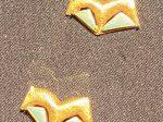 鑲綠松石金馬飾片-唐時代-巡回特別展【天歌長歌-唐蕃古道】-四川博物館