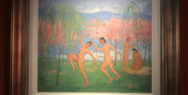 春の舞踊-特別展【玉汝にする成功—潘玉良の芸術人生】成都博物館・安徽博物院