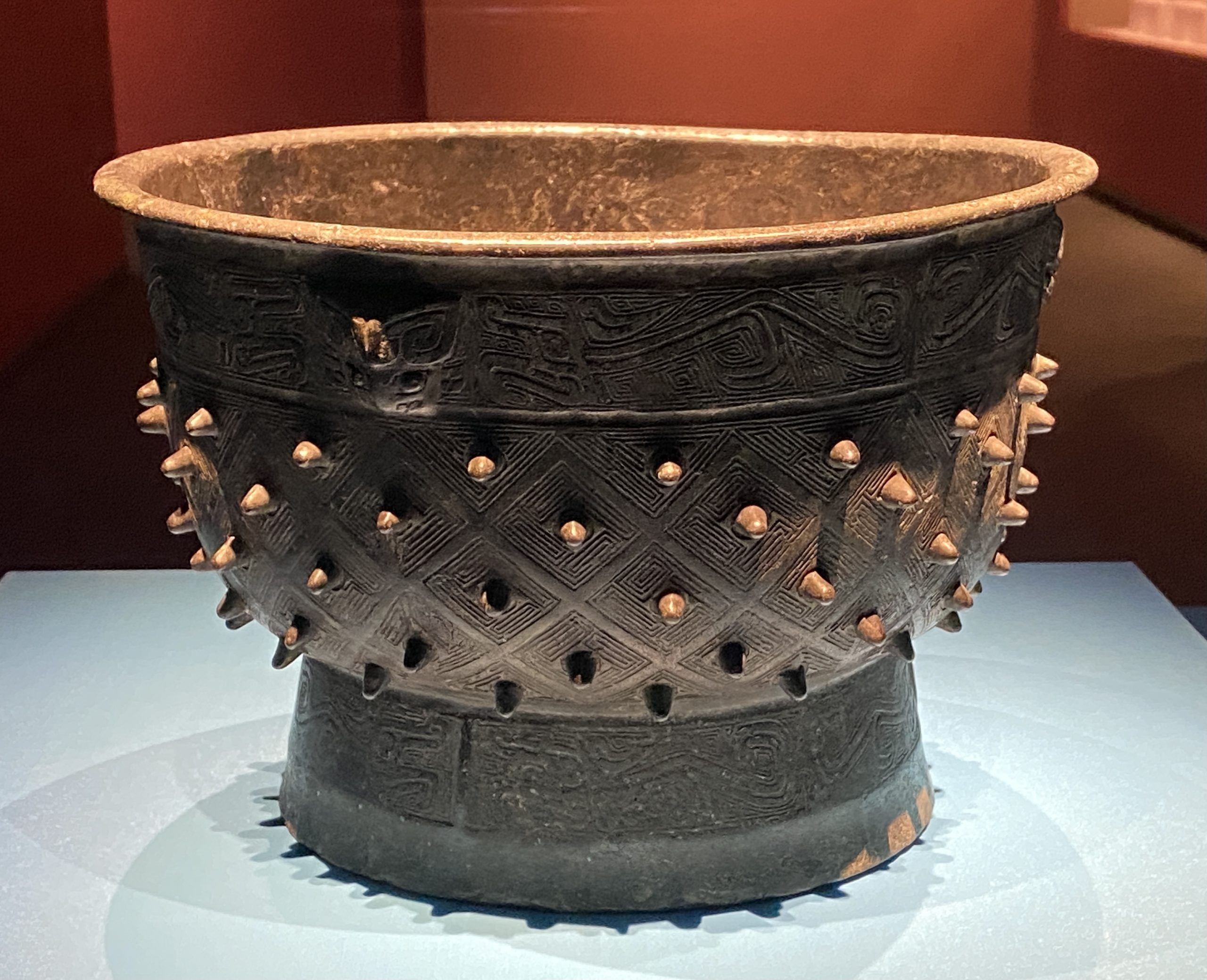 【父己】銅簋-商時代-特別展【食味人間】四川博物院・中国国家博物館