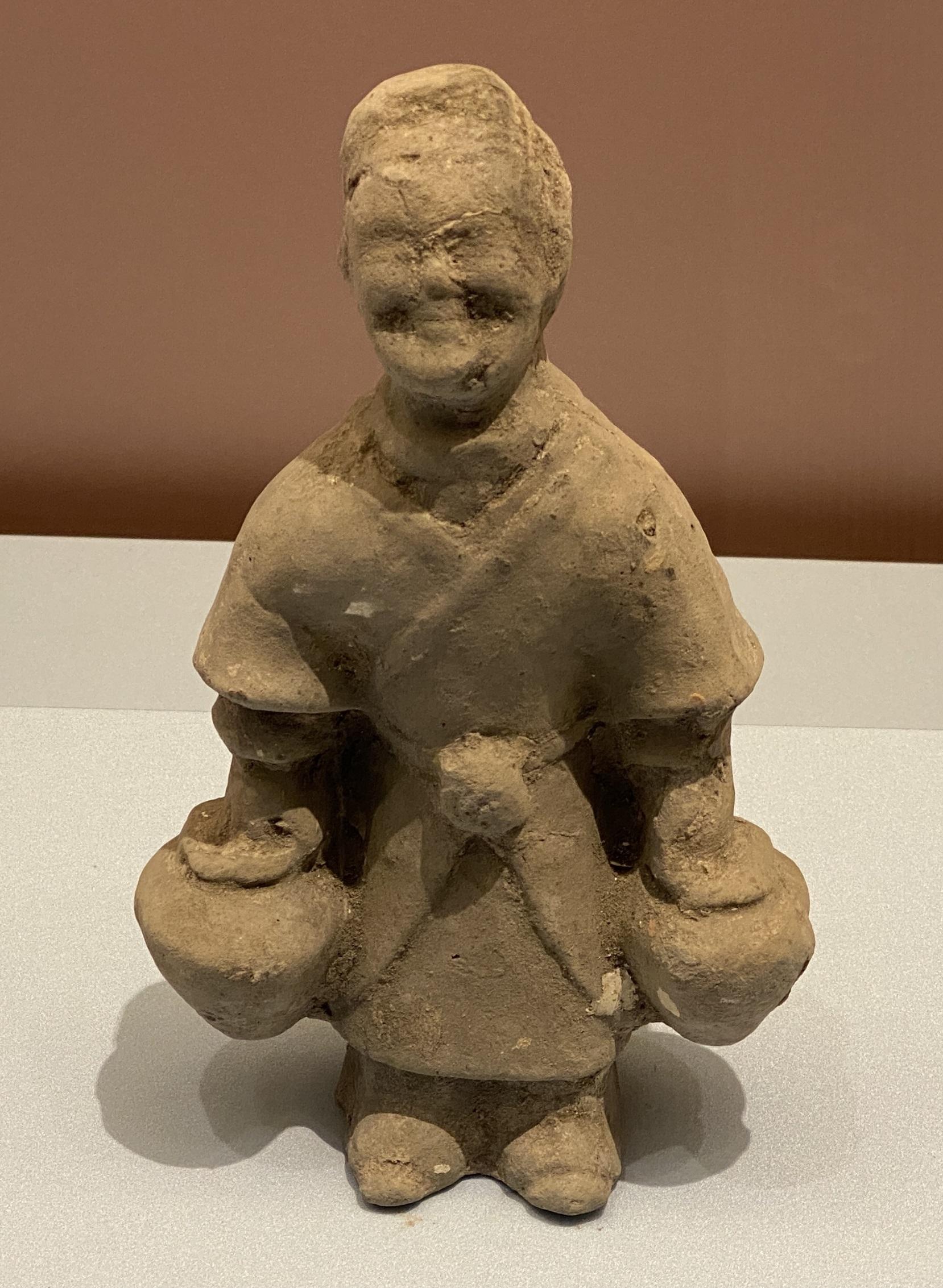 陶提罐俑-東漢時代-特別展【食味人間】四川博物院・中国国家博物館