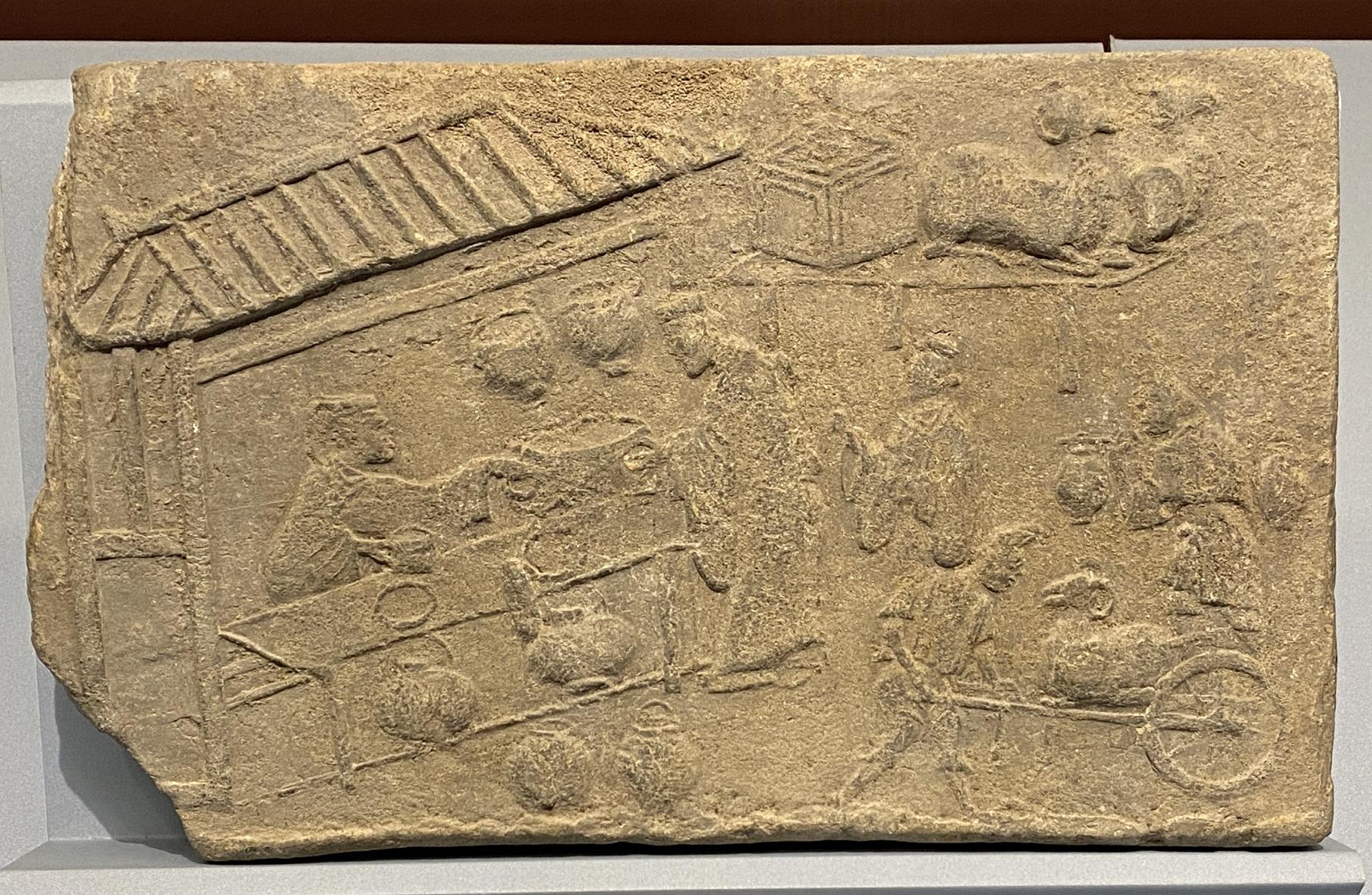 酒肆画像レンガ-東漢時代-特別展【食味人間】四川博物院・中国国家博物館