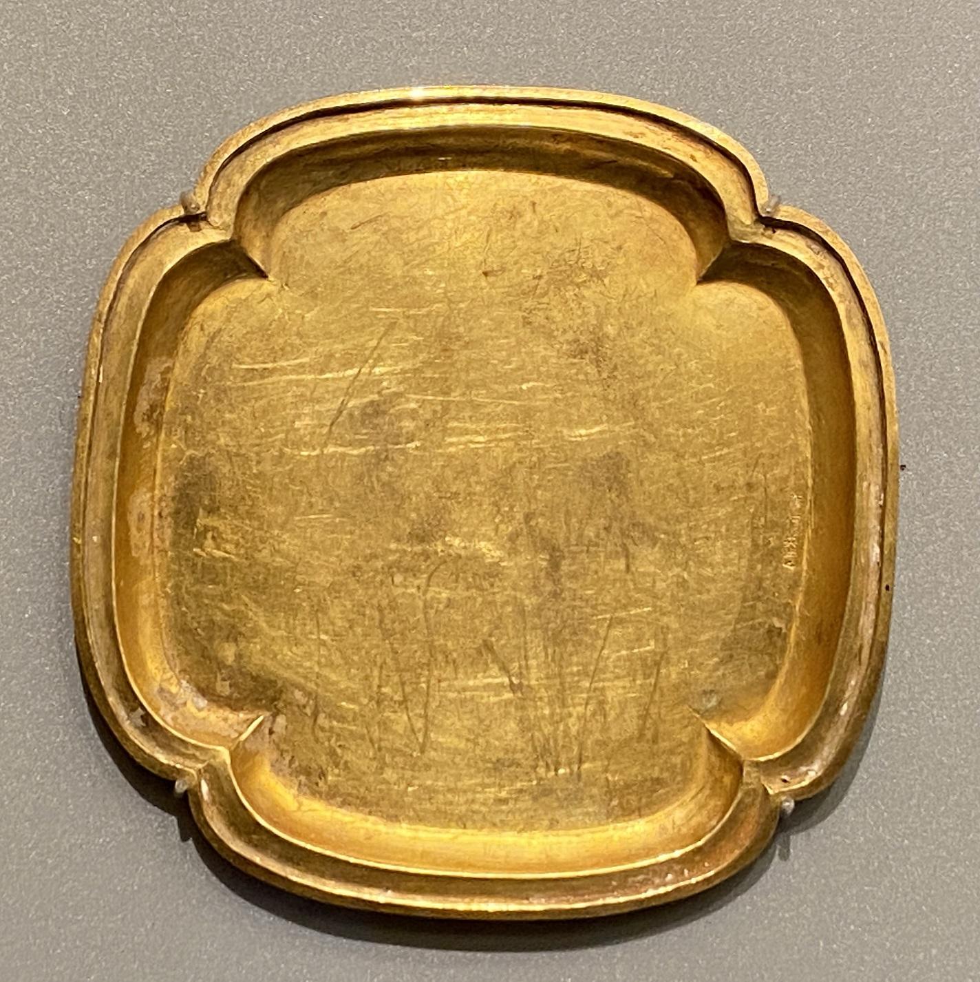 海棠式金盤-遼時代-特別展【食味人間】四川博物院・中国国家博物館