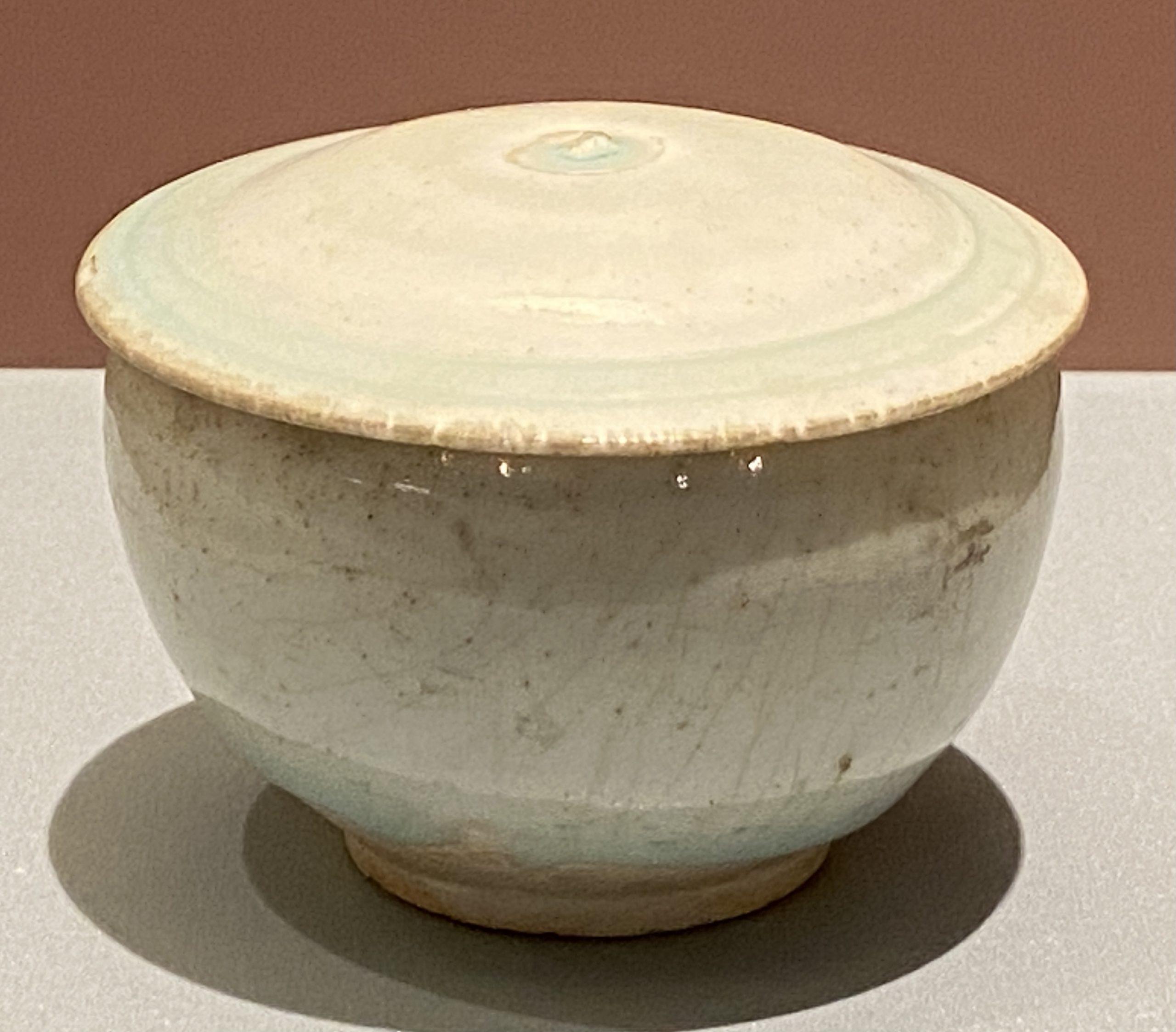 青白釉磁蓋罐-南宋時代-特別展【食味人間】四川博物院・中国国家博物館