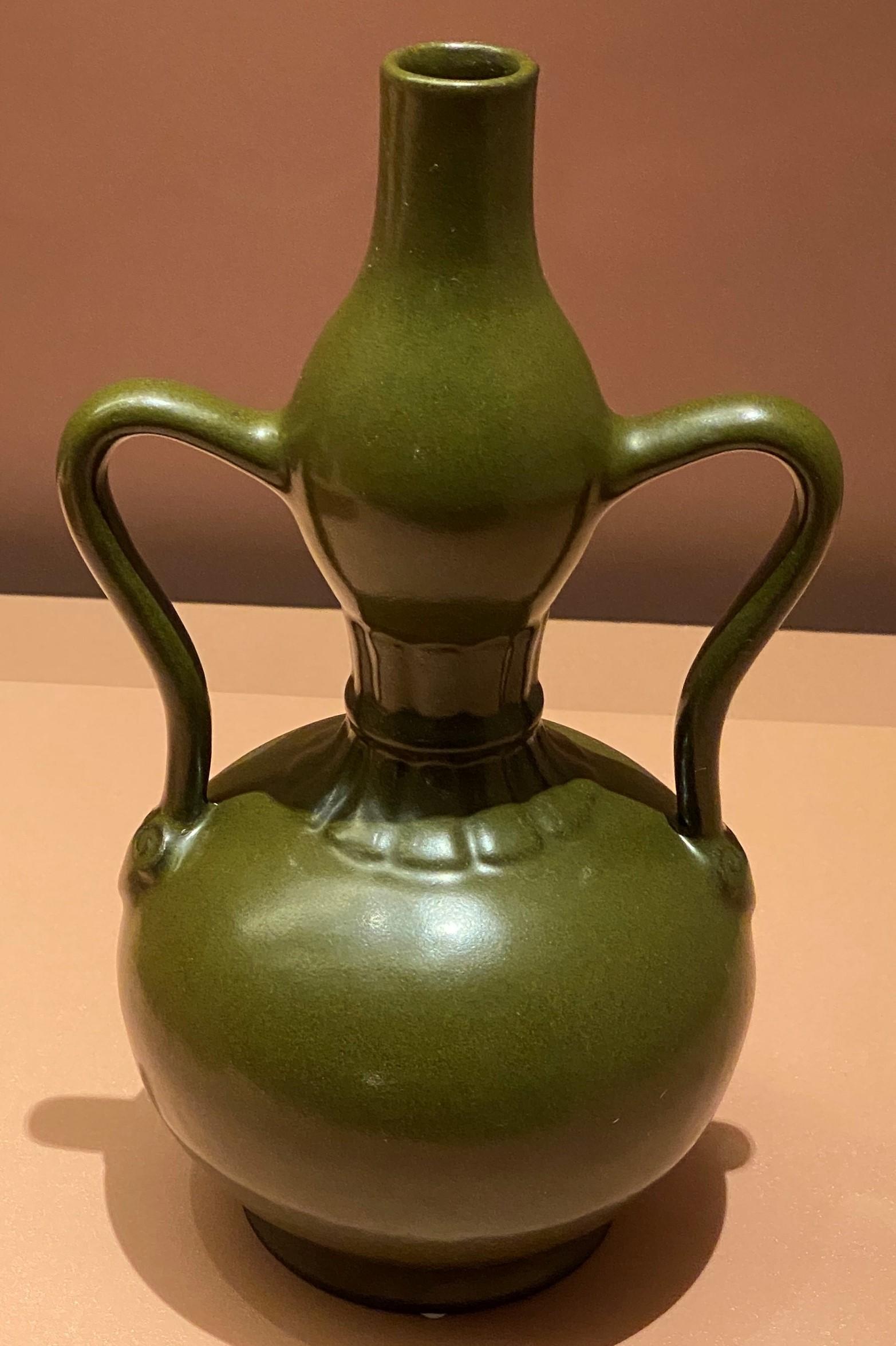 茶葉末釉葫蘆瓶-清時代-特別展【食味人間】四川博物院・中国国家博物館