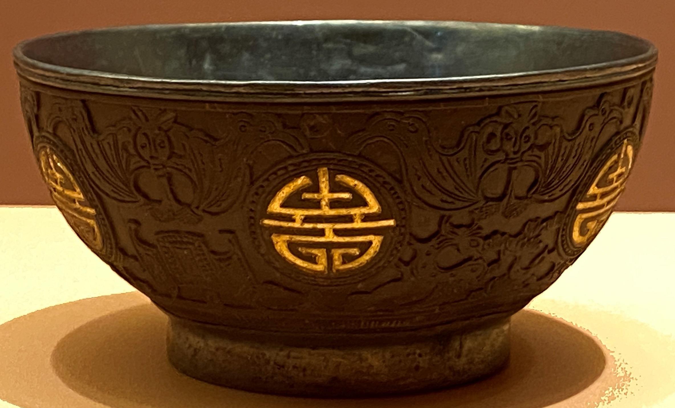 沈香木質杯-清時代-特別展【食味人間】四川博物院・中国国家博物館