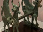 有翼人面獸身像鏡板轡-特別展【山高水長・物象千年-シルクルードの文化と交流】四川博物院-平山郁夫シルクロード美術館