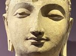 眉間傷-仏陀頭像-特別展【山高水長・物象千年-シルクルードの文化と交流】四川博物院-平山郁夫シルクロード美術館