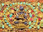 銀扣金額飾-特別展【七宝玲瓏-ヒマラヤからの芸術珍品】-金沙遺跡博物館-成都