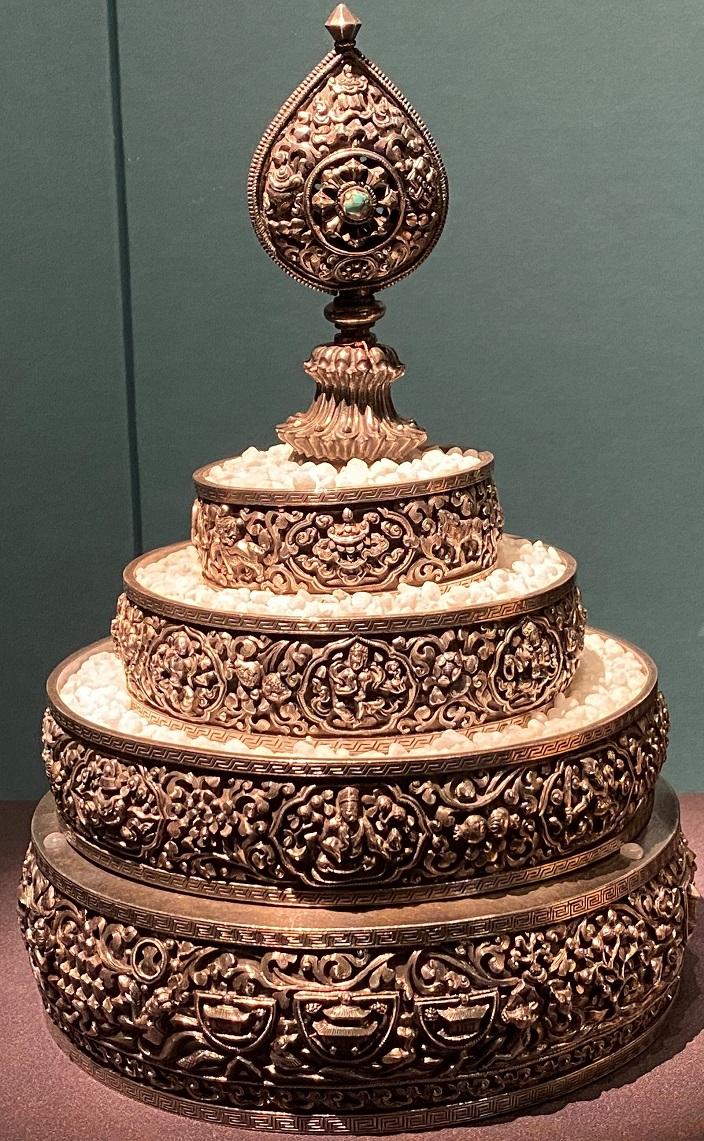 銀曼達-特別展【七宝玲瓏-ヒマラヤからの芸術珍品】-金沙遺跡博物館-成都