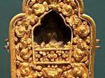 銅鎏金釈迦牟尼仏嘎嗚-特別展【七宝玲瓏-ヒマラヤからの芸術珍品】-金沙遺跡博物館-成都