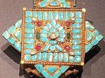 金嵌宝石曼陀羅式嘎嗚1-特別展【七宝玲瓏-ヒマラヤからの芸術珍品】-金沙遺跡博物館-成都