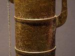 漆木描金多穆壺-特別展【七宝玲瓏-ヒマラヤからの芸術珍品】-金沙遺跡博物館-成都