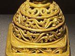 銅鎏金紋印章-特別展【七宝玲瓏-ヒマラヤからの芸術珍品】-金沙遺跡博物館-成都