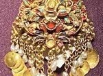 金墜飾-特別展【七宝玲瓏-ヒマラヤからの芸術珍品】-金沙遺跡博物館-成都