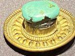 銅鎏金嵌緑松石頭飾-特別展【七宝玲瓏-ヒマラヤからの芸術珍品】-金沙遺跡博物館-成都