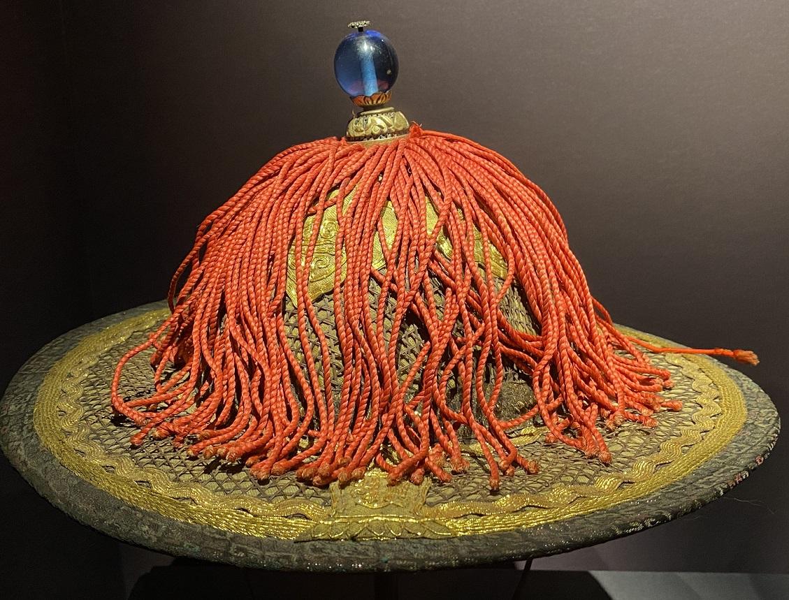官帽-特別展【七宝玲瓏-ヒマラヤからの芸術珍品】-金沙遺跡博物館-成都