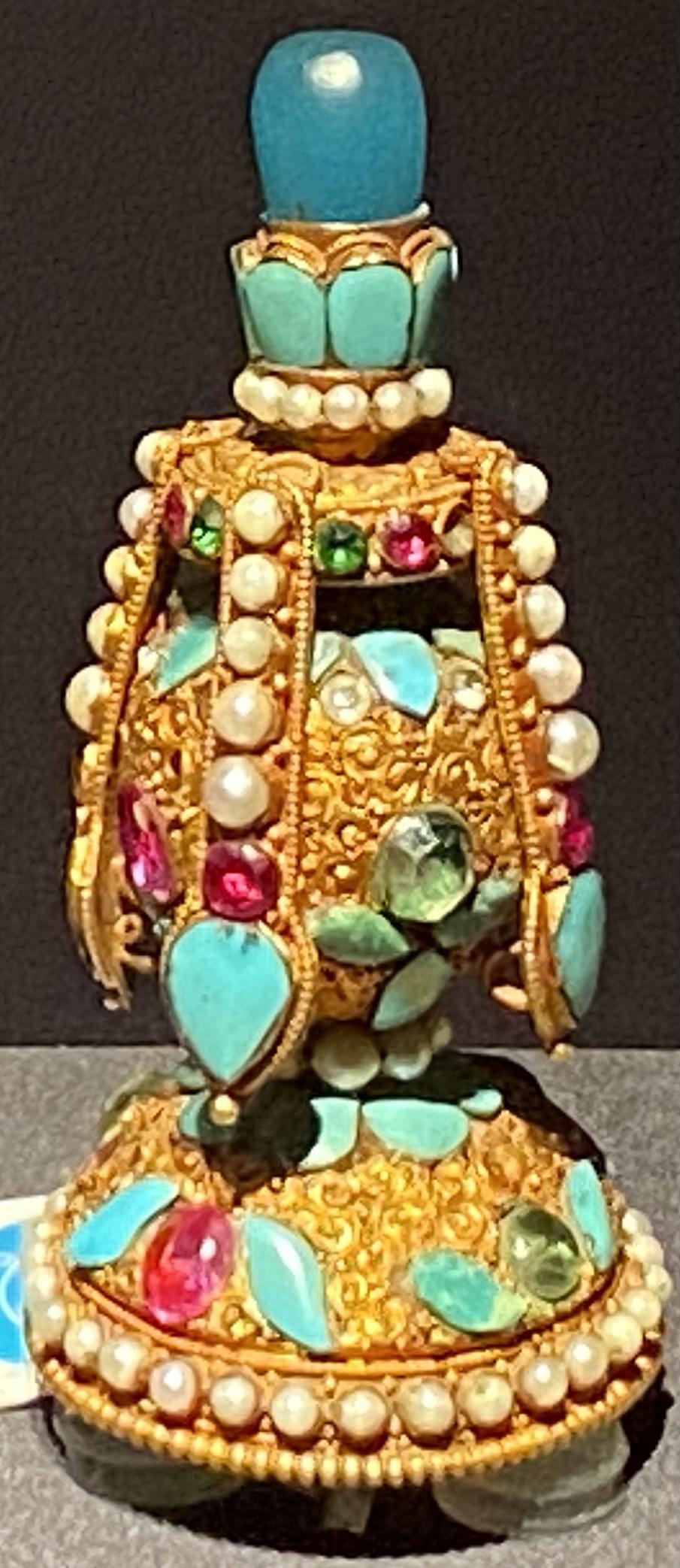 如意宝瓶帽頂-特別展【七宝玲瓏-ヒマラヤからの芸術珍品】-金沙遺跡博物館-成都