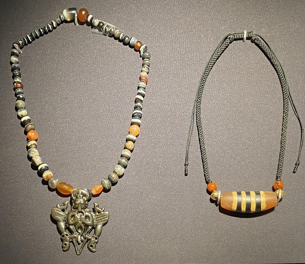 ネックレス-特別展【七宝玲瓏-ヒマラヤからの芸術珍品】-金沙遺跡博物館-成都