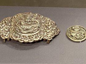 銀腰飾-特別展【七宝玲瓏-ヒマラヤからの芸術珍品】-金沙遺跡博物館-成都