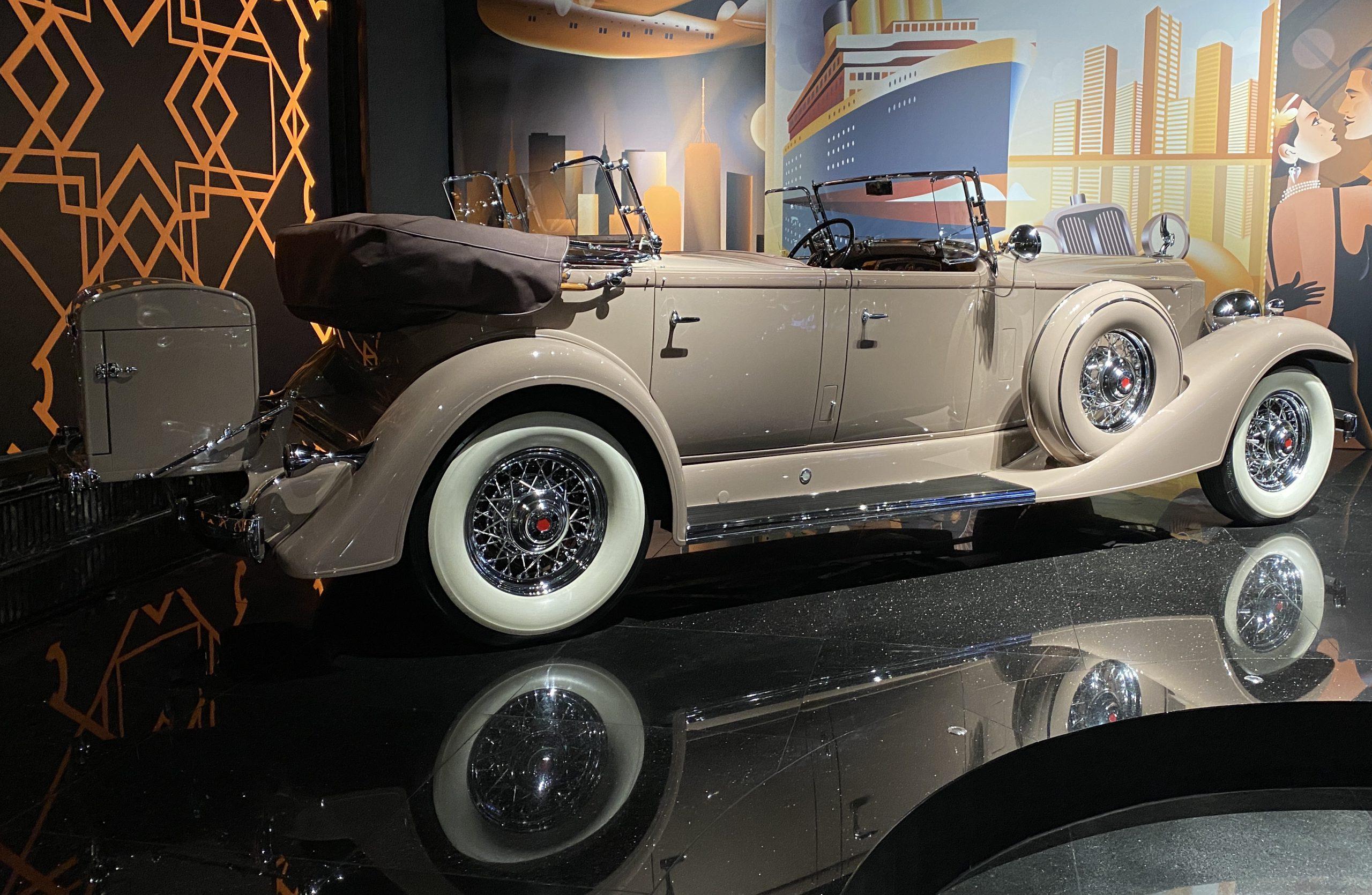 1933 パッカード スーパー8-1933 Packard Super8-常設展-三和老爺車博物館-成都市-四川省