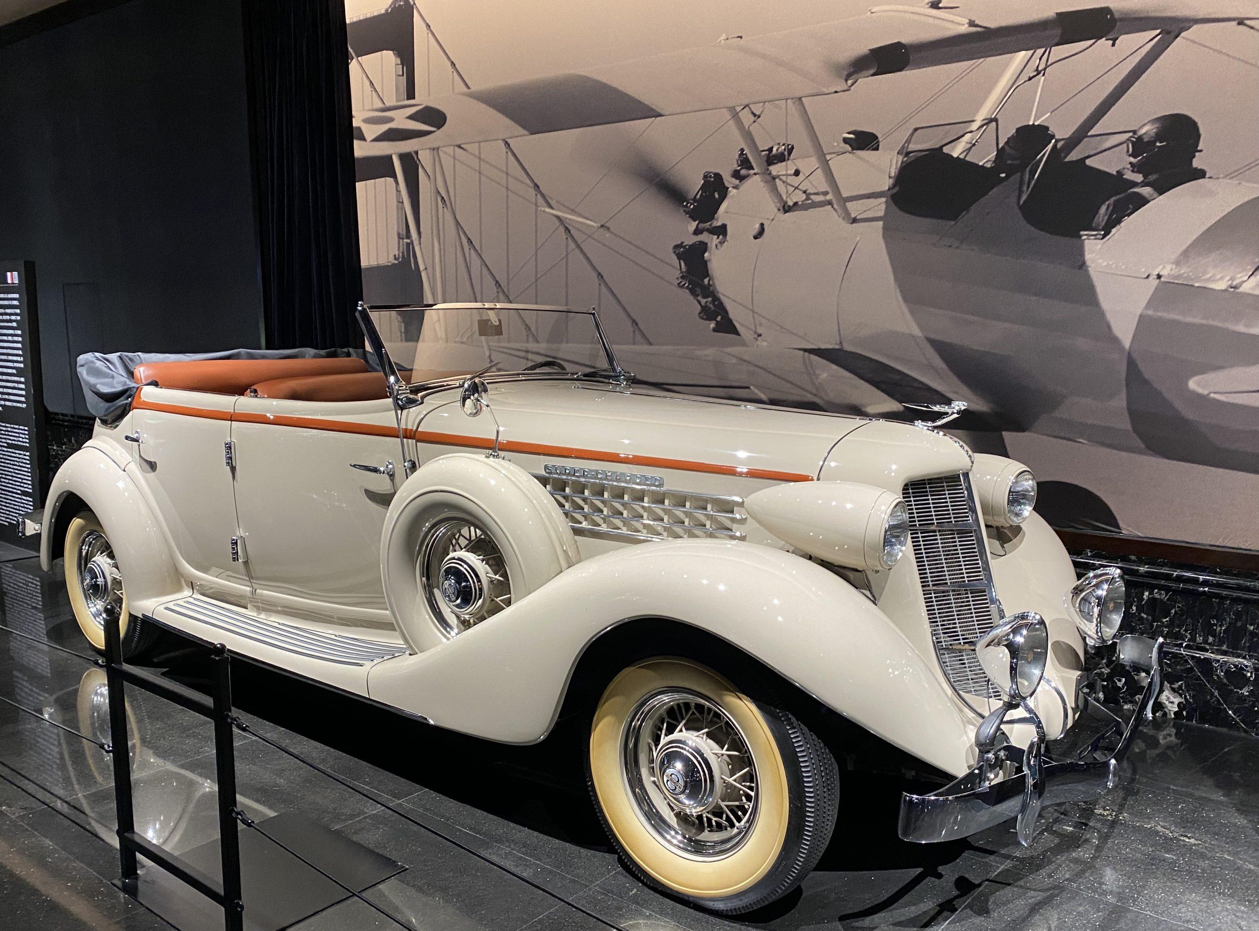 1935 オーベルン851SC-1935 Aubern 851SC-常設展-三和老爺車博物館-成都市-四川省