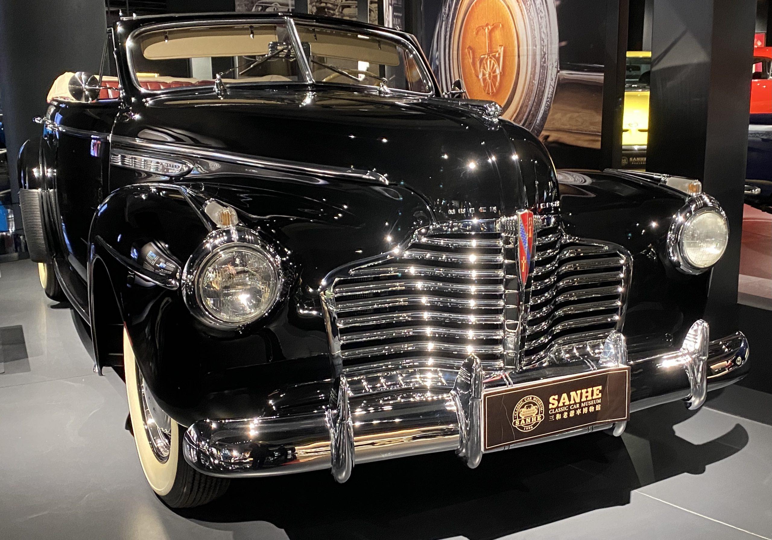 1941ビュイックスーパー-1941 Buick Super-常設展-三和老爺車博物館-成都市-四川省