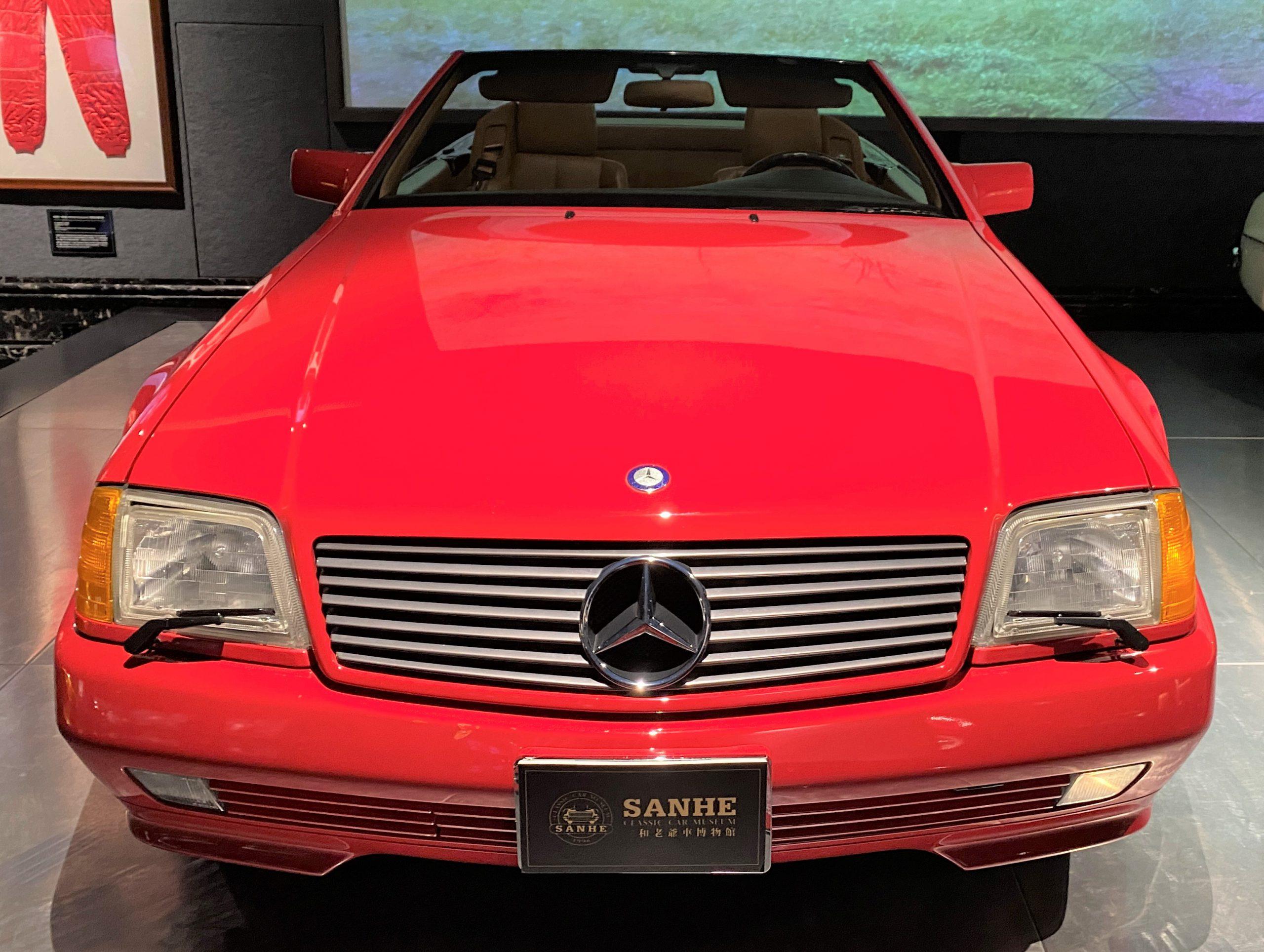 1992年メルセデスベンツ300SL-1992 Mercedes Bens 300SL-常設展-三和老爺車博物館-成都市-四川省
