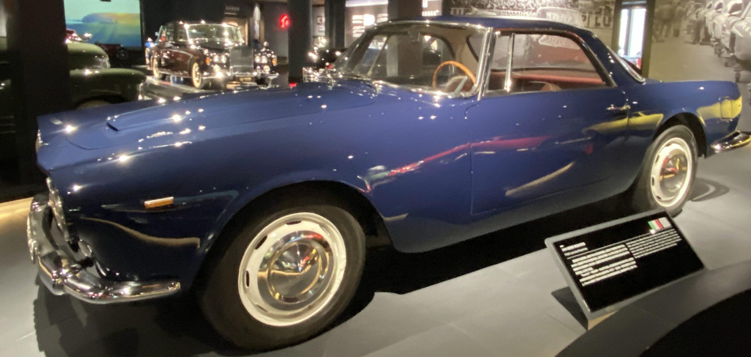 1960年ランチアフラミニア-1960 Lancia Flaminia-常設展-三和老爺車博物館-成都市-四川省