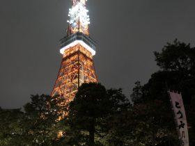 東京タワーの夜-芝公園-港区-東京都