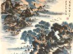 【採蓮詞-唐時代・張潮】書画:王英文-南山老人