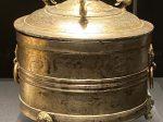 鎏金青銅樽-【列備五都-秦漢時代の中国都市】-成都博物館-四川成都