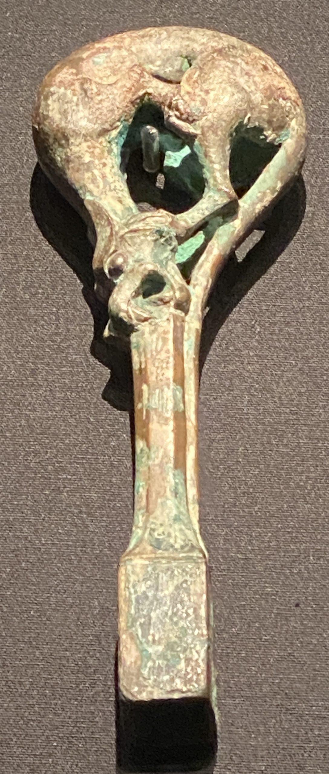 銅瑟軫鑰-【列備五都-秦漢時代の中国都市】-成都博物館-四川成都
