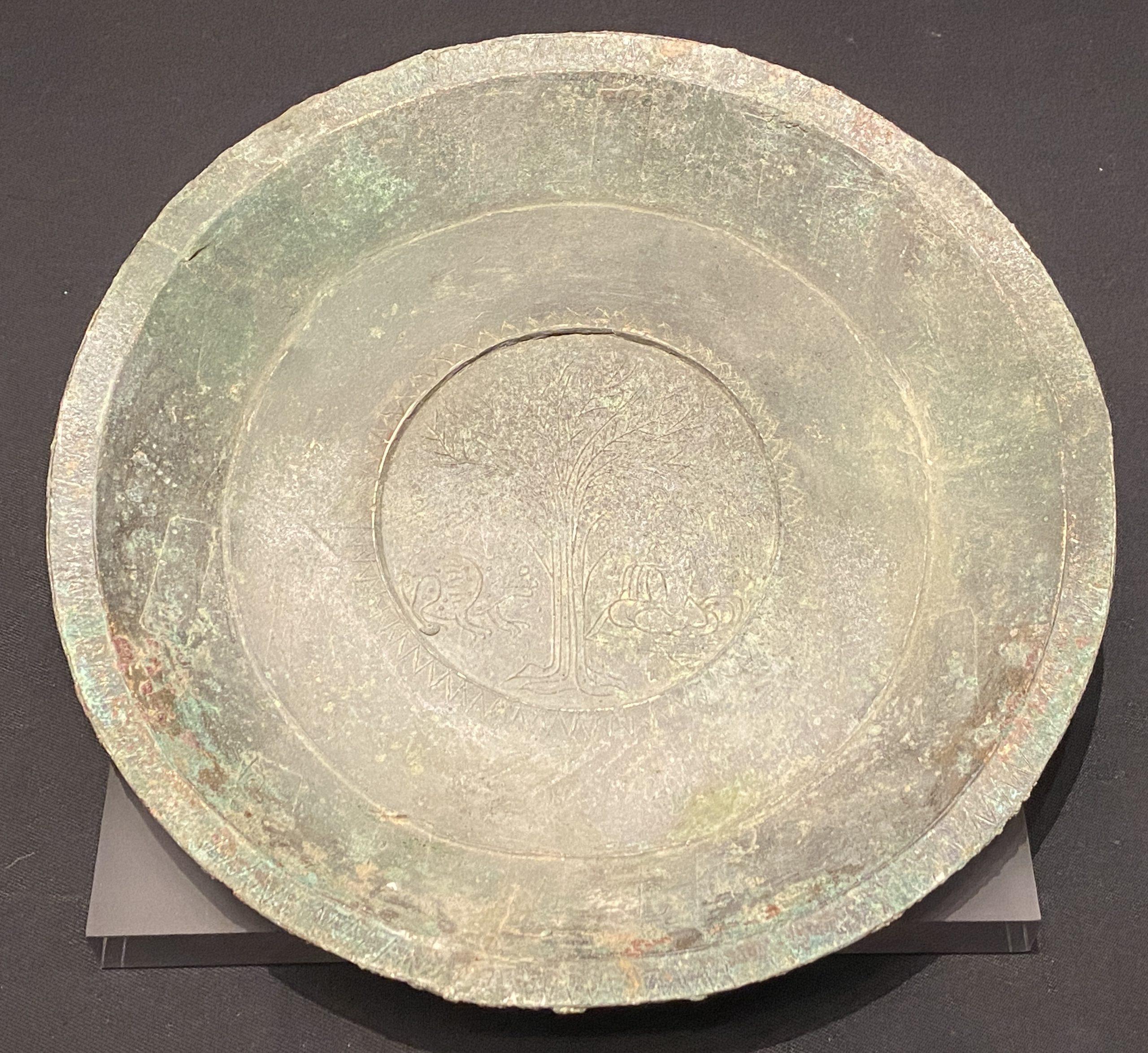 銅盤-【列備五都-秦漢時代の中国都市】-成都博物館-四川成都