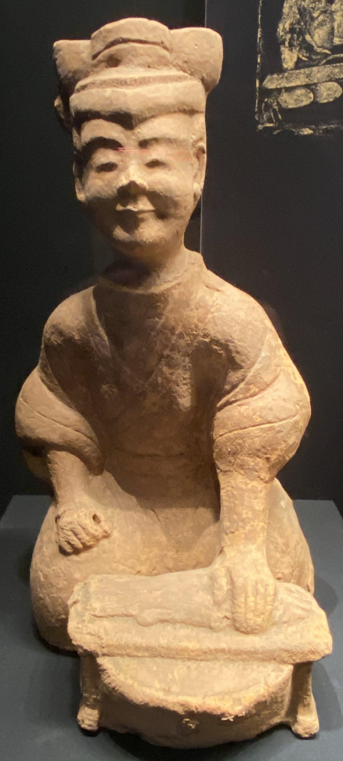 陶庖厨俑-【列備五都-秦漢時代の中国都市】-成都博物館-四川成都
