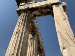 ローマ時代のアゴラ(Roman Agora)-アテネ-ギリシャ-撮影:劉雲昊2019.9.8